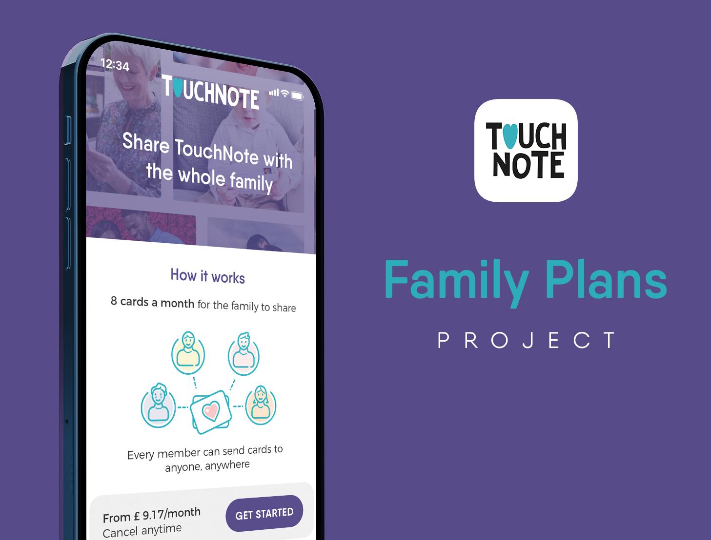 Family Plans Header